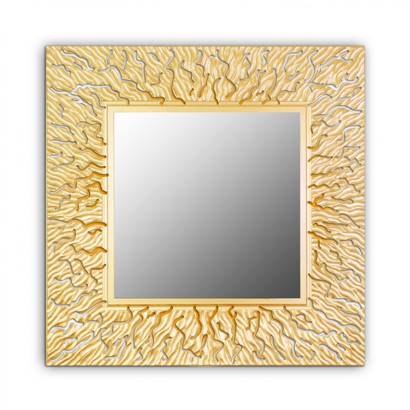 Зеркало Coral Qu Gold
