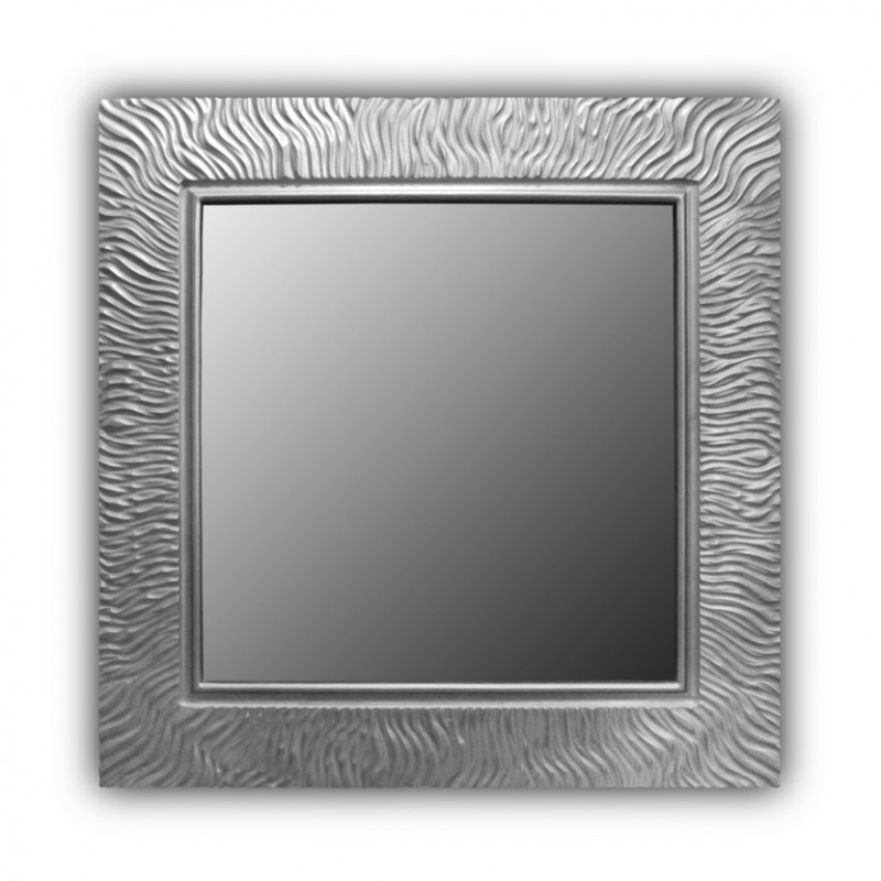 Зеркало Wave Qu Silver